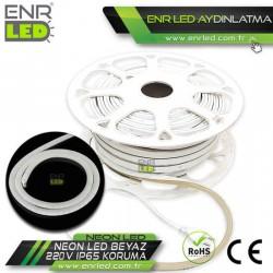 NEON LED 220V BEYAZ