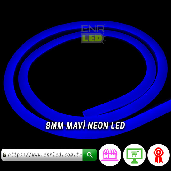 NEON LED MAVİ 15 METRE