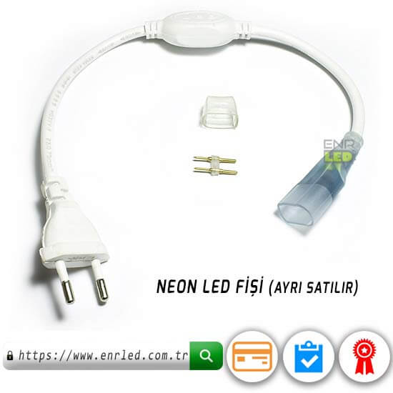 NEON LED 220V 8MM 120 LED - GÜNIŞIĞI