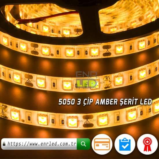 100 METRE SİLİKONLU LED 3 ÇİPLİ 5050