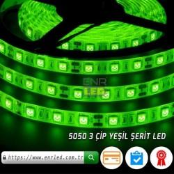 3 ÇİPLİ ŞERİT LED 5050 DIŞ MEKAN 5 METRE